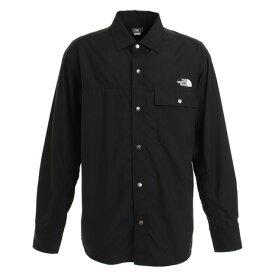 ノースフェイス(THE NORTH FACE) ロングスリーブヌプシシャツ NR11961 K (メンズ、レディース)