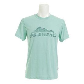 ホールアース(Whole Earth) 【多少の汚れ等訳あり最終処分】半袖 Tシャツ WES17M02-5704 FGRN (Men's)