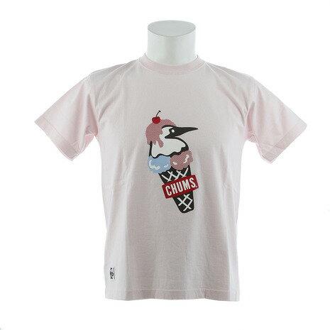 チャムス(CHUMS) 【ゼビオ限定】 ダブルアイスクリーム Tシャツ CH01-1466-R058 (Men's)