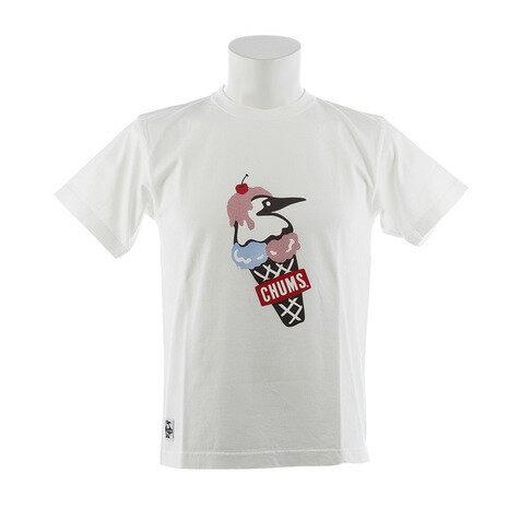 チャムス(CHUMS) 【ゼビオ限定】 ダブルアイスクリーム Tシャツ CH01-1466-W001 (Men's)