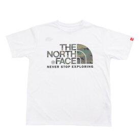 ノースフェイス(THE NORTH FACE) カモフラージュロゴ 半袖Tシャツ NT31932 W (Men's)