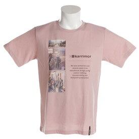 ポイント+3倍! 要エントリー 7日10:00〜9日9:59まで カリマー(karrimor) 半袖Tシャツ 51814M182-P Pink (Men's)