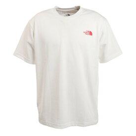 ノースフェイス(THE NORTH FACE) 半袖Tシャツ ショートスリーブバンダナスクエアロゴTシャツ NT32108 W (メンズ)