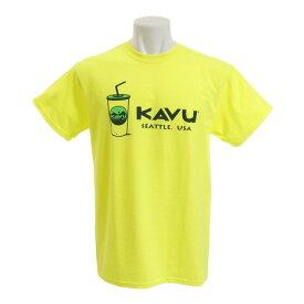 【3点購入5%OFFクーポン!5/8〜5/10】カブー(KAVU) 【多少の傷汚れありの為大奉仕】Tシャツ 半袖 シェイク Yel 19821066 Yel (メンズ)