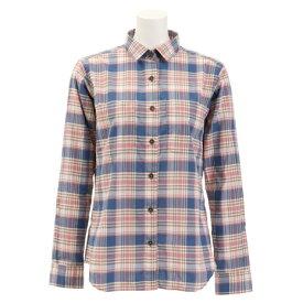 フォックスファイヤー(Foxfire) Cシールドミックスチェックシャツ 8212925-098 (Lady's)