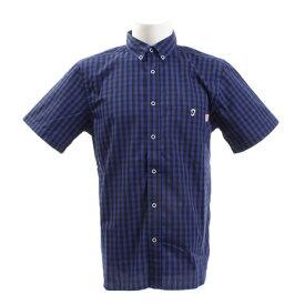 チャムス(CHUMS) ギンガムチェックシャツ CH02-1103 Navy/Blue (Men's)