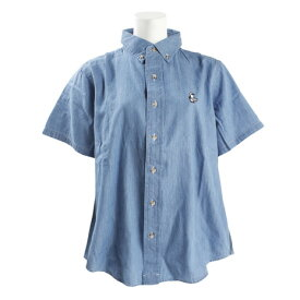 チャムス(CHUMS) ビッグデニムシャツ ライトブルー CH12-1101 Lt. Blue (Lady's)