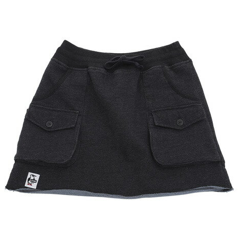 チャムス(CHUMS) Sweat Bush Skirt CH18-1060-K006-04 (Jr)