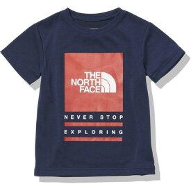 ノースフェイス(THE NORTH FACE) バグフリーロゴ 半袖Tシャツ NTJ12135 NY (キッズ)