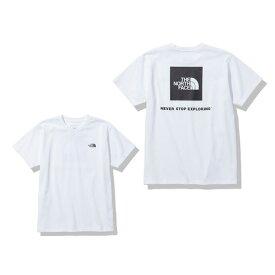 【3点購入5%OFFクーポン!5/8〜5/10】ノースフェイス(THE NORTH FACE) バックスクエアー ロゴ 半袖Tシャツ NTW32144 W (レディース)