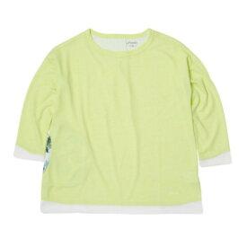 【全品P5倍!19日22時〜24時 ※一部対象外商品あり】フェニックス(PHENIX) Comfy 3/4シャツ PHA22TS70 LY (レディース)