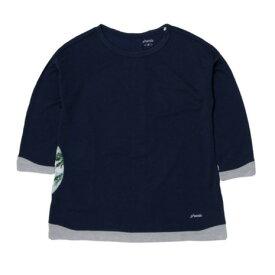 【全品P5倍!19日22時〜24時 ※一部対象外商品あり】フェニックス(PHENIX) Comfy 3/4シャツ PHA22TS70 NV (レディース)