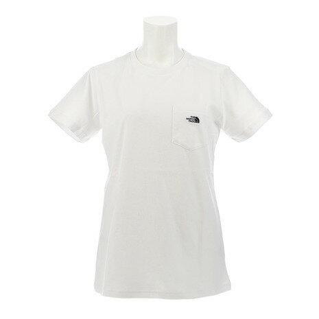 ノースフェイス(THE NORTH FACE) 【ゼビオ限定】 SIMPLE POCKET 半袖Tシャツ NTW31902X W # (Lady's)