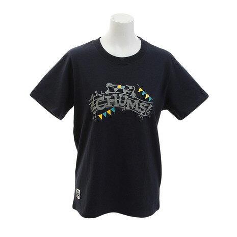 チャムス(CHUMS) Music Tシャツ CH11-1277-Navy (Lady's)