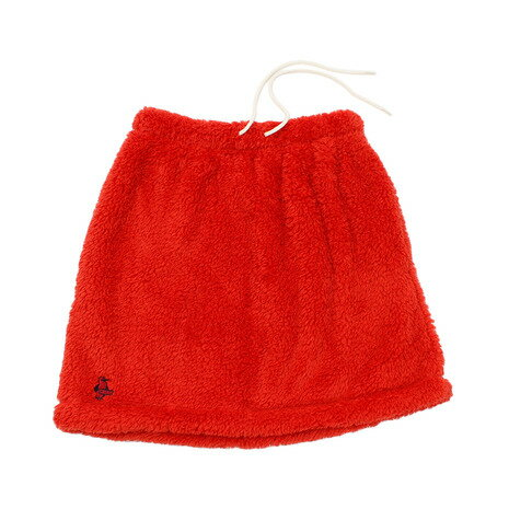 チャムス(CHUMS) フリースエルモスカート CH18-1080 Red (Lady's)