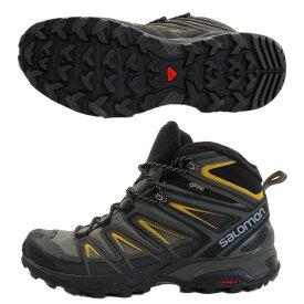 サロモン(SALOMON) X ULTRA 3 MID GTX L40133700 ハイキング&マルチファンクション トレッキングシューズ メンズ (Men's)