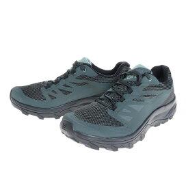 サロモン(SALOMON) トレッキングシューズ 登山靴 OUTline GTX L40477100 アウトライン ゴアテックス ローカット 登山 山登り (メンズ)