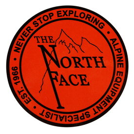 【買いまわりでポイント最大10倍!】ノースフェイス(THE NORTH FACE) プリントステッカー NN31710 オールドロゴ (Men's、Lady's、Jr)