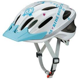 OGK-KABUTO WR-J ジュニア 子供用ロードバイク ヘルメット 226815 WHT マリンホワイト (Jr)