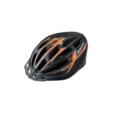ブリヂストン(BRIDGESTONE) airio エアリオ ヘルメット CHA5456 Mサイズ ジュニア 子供用 自転車 ヘルメット B371300 BL ブラック