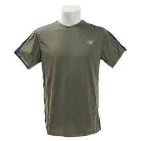 ニューバランス(new balance) アクセレレイトショートスリーブTシャツ AMT73061MGN (Men's)