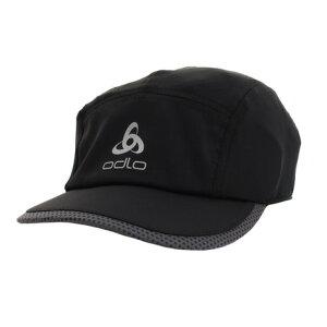 【5点10%OFF!まとめ買いクーポン☆8/4迄】オドロ(ODLO) ランニング キャップ CERAMICOOL LIGHT 762370black オンライン価格 帽子 (メンズ)