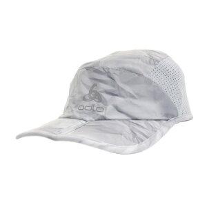 【5点10%OFF!まとめ買いクーポン☆8/4迄】オドロ(ODLO) ランニング キャップ CERAMICOOL X-LIG 762390odlo silver gre オンライン価格 帽子 (メンズ)