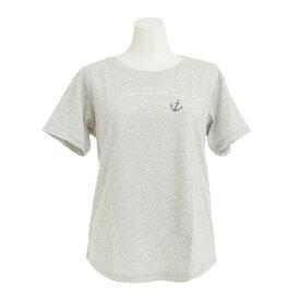 アシュエル(H.L) 【多少の汚れ等訳あり大奉仕】TC 天竺クルーネックTシャツ 864HL17S006LGRY (Lady's)