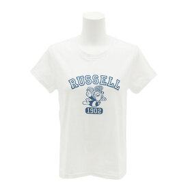 ラッセル(RUSSELL) 【多少の汚れ等訳あり大奉仕】1902 BEE Tシャツ RBL17S1005 WHT (Lady's)