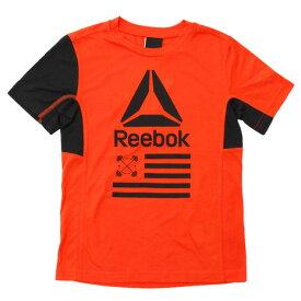 リーボック(REEBOK) 【多少の汚れ等訳あり大奉仕】ボーイズ FTR Tシャツ BAS NPW44-BK5112 (Jr)