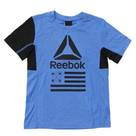 リーボック(REEBOK) 【多少の汚れ等訳あり大奉仕】ボーイズ FTR Tシャツ BAS NPW44-BK5115 (Jr)