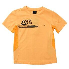 リーボック(REEBOK) 【多少の汚れ等訳あり大奉仕】ボーイズ WOR PES Tシャツ MLI35-BK4428 (Jr)