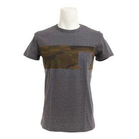 エックスタイル(Xtyle) 【多少の汚れ等訳あり大奉仕】ボーダー ポケット付 Tシャツ 871C7CD5304 CGRY (Men's)