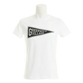 エックスタイル(Xtyle) 【多少の汚れ等訳あり大奉仕】半袖プリントTシャツ VILLAGE 871C7CD5421 WHT (Men's)