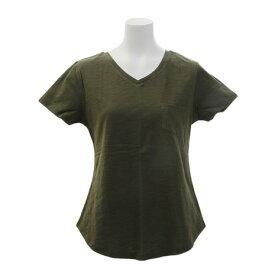 エックスタイル(Xtyle) 【多少の汚れ等訳あり大奉仕】ポケットTシャツ 872C7CD5315 OLV (Lady's)