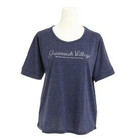 エックスタイル(Xtyle) プリント Tシャツ 872C7CD5321 NVY (Lady's)