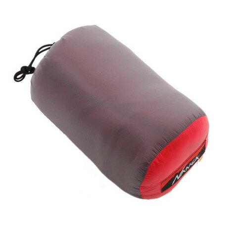 ナンガ ウルトラドライダウンバッグ380DX UDD BAG 380DX ショート RED UDD15 キャンプ用品 シュラフ 寝袋 (Men's、Lady's)
