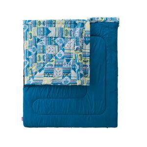 コールマン(Coleman) 送料無料(対象外地域有)寝袋 シュラフ 寝具 コンパクト 折りたたみ 軽量 キャンプ用品 ファミリー2in1 C5 2000027257 (メンズ、レディース)
