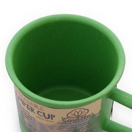 EcoSouLife Camper Cup 14701 Green キャンプ用品 マグカップ (Men's、Lady's)