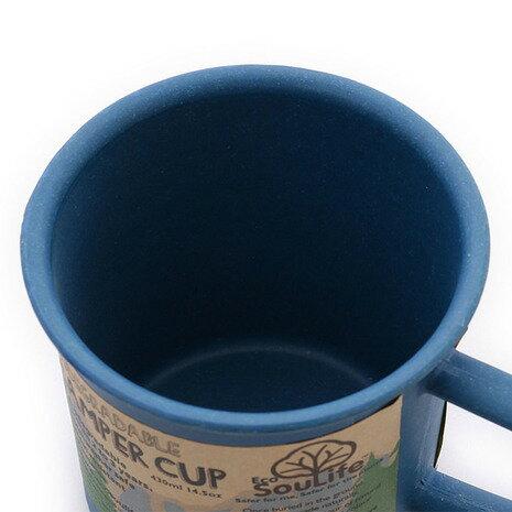 EcoSouLife Camper Cup 14706 Navy キャンプ用品 マグカップ (Men's、Lady's)