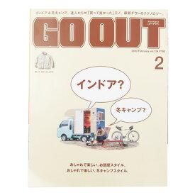 書籍 GO OUT 2020年2月号 vol124 (Men's、Lady's、Jr)