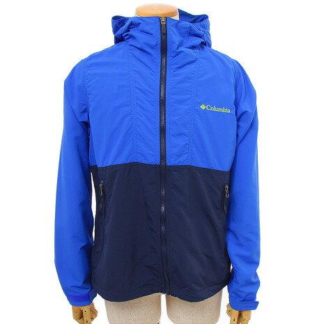 コロンビア(Columbia) ヘイゼンジャケット Hazen Jacket ウインドシェル PM3645 409 Blue Macaw (Men's)