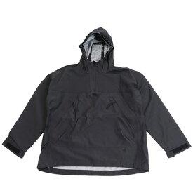 スノーピーク(snow peak) FR 3L レインプルオーバージャケット JK-19AU003 Black (Men's)
