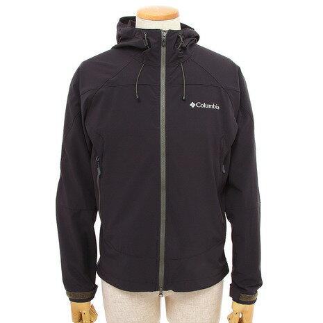 コロンビア(Columbia) タイムトゥートレイルジャケット Time To Trail Jacket ソフトシェル PM3902 010 Black (Men's)
