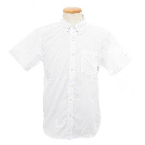 コロンビア(Columbia) シティパークショートスリーブシャツ メンズ 半袖シャツ PM7937 100 (Men's)