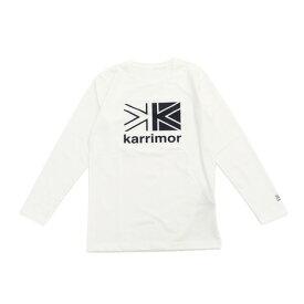 カリマー(karrimor) ロングスリーブ ロゴTシャツ 3T03MAI1-Off white (Men's)