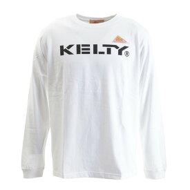 ケルティ(KELTY) ロゴロングTシャツ KE-934-1018 WHITE (メンズ)