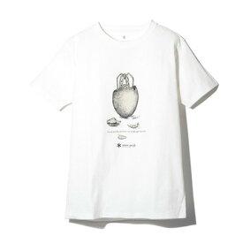 スノーピーク(snow peak) ギガパワーストーブ Tシャツ TS-19SU104 WH (Men's)