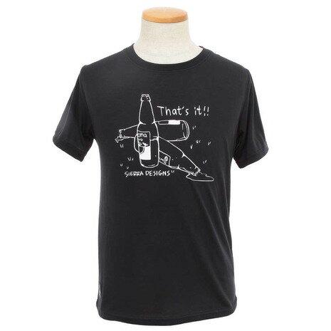 シェラデザインズ(SIERRA DESIGNS) 【ゼビオグループ限定】 防虫Beer半袖Tシャツ 20913226-60.BLK (Men's)