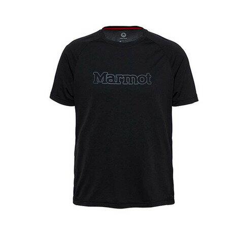 マーモット(Marmot) ACCENT H/S T メンズ テクニカルTシャツ MOT-S2351L BLK ブラック (Men's)